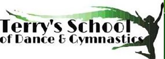 an image of terry's school of gymnastics logo