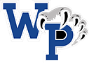 a graphic of the west potomac high school logo